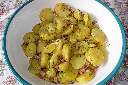 Warmer Kartoffelsalat mit Speck 0