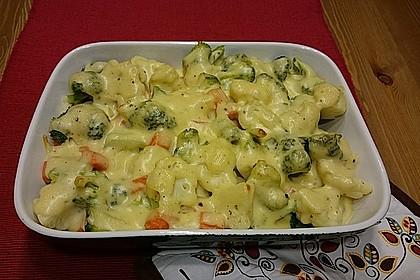 Blumenkohl - Brokkoli - Auflauf 16