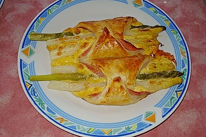 Spargel in Blätterteig 3