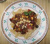 Cremiges Chili Con Carne mit Sauerrahm (Bild)