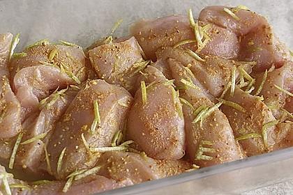 Hähnchenbrust in Zitronensauce 1