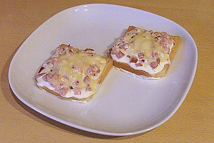 Flammkuchen - Toast 50