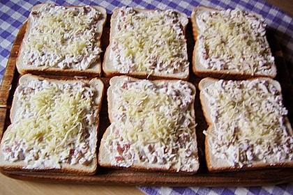 Flammkuchen - Toast 55