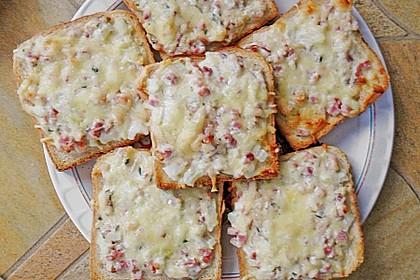 Flammkuchen - Toast 42