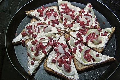 Flammkuchen - Toast 35