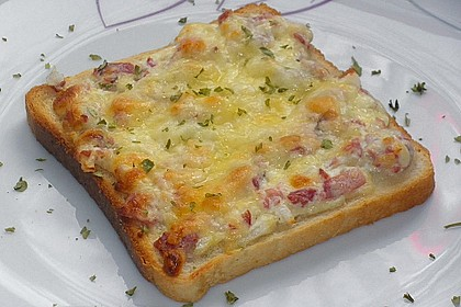 Flammkuchen - Toast 10
