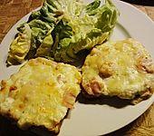 Flammkuchen - Toast (Bild)