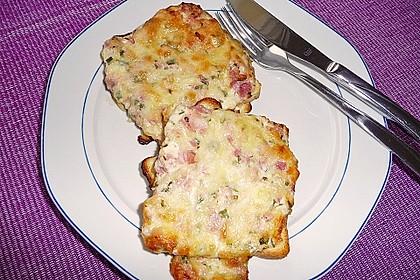 Flammkuchen - Toast 2