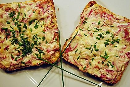 Flammkuchen - Toast 14