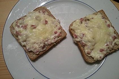 Flammkuchen - Toast 40