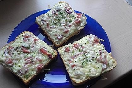 Flammkuchen - Toast 23