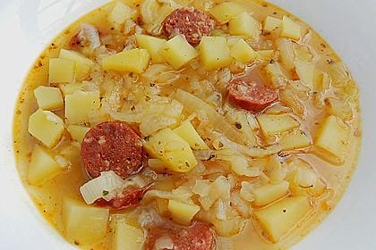 Zwiebel - Kartoffel - Topf