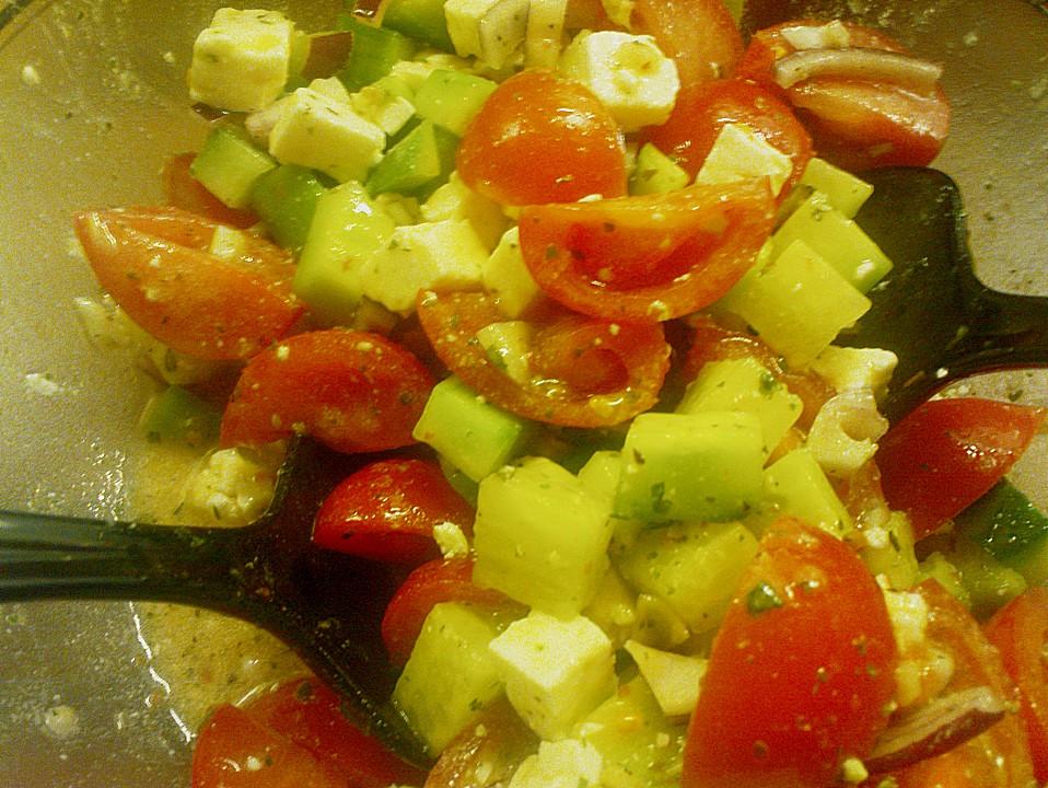 salat mit tofu gurken und tomaten rezepte suchen. Black Bedroom Furniture Sets. Home Design Ideas