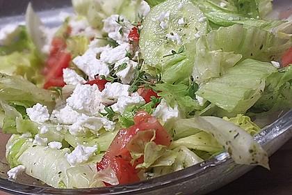 Tomaten - Gurken - Salat mit Feta 1