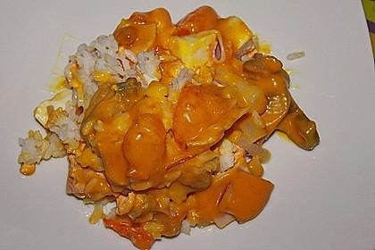 Reis - Schichtsalat
