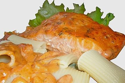 Lachs-Sahnesoße zu Nudeln 70