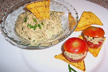 Avocado - Thunfisch - Dip mit Tomaten 1