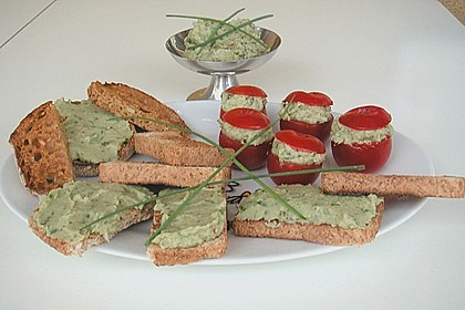 Avocado - Thunfisch - Dip mit Tomaten