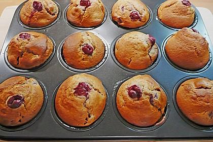 Cappuccino - Kirsch - Muffins 1