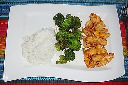 Honig - Hähnchenbrust mit Sesam und Broccoli 7