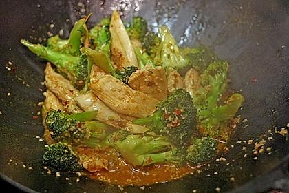 Honig - Hähnchenbrust mit Sesam und Broccoli 12
