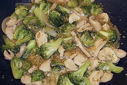 Honig - Hähnchenbrust mit Sesam und Broccoli 11