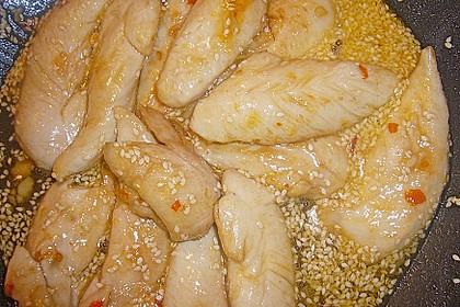 Honig - Hähnchenbrust mit Sesam und Broccoli 18