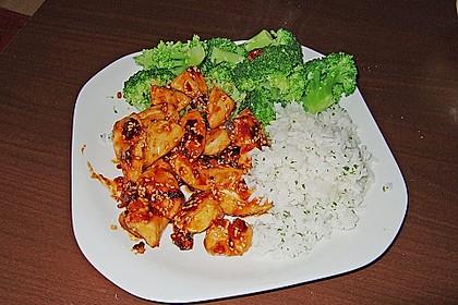 Honig - Hähnchenbrust mit Sesam und Broccoli 4