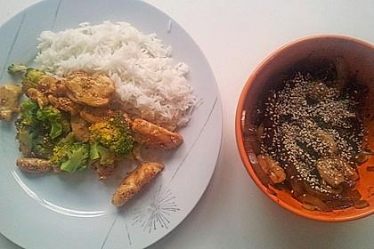 Honig - Hähnchenbrust mit Sesam und Broccoli 16