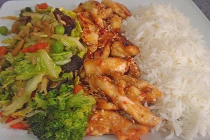 Honig - Hähnchenbrust mit Sesam und Broccoli 19