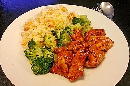 Honig - Hähnchenbrust mit Sesam und Broccoli 2