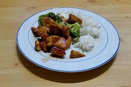 Honig - Hähnchenbrust mit Sesam und Broccoli 8
