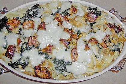 Lachs - Spinat - Lasagne 4