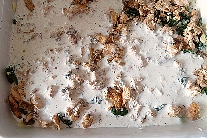 Lachs - Spinat - Lasagne 7