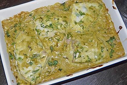Thunfischsteaks in Kokos - Bananen - Sauce