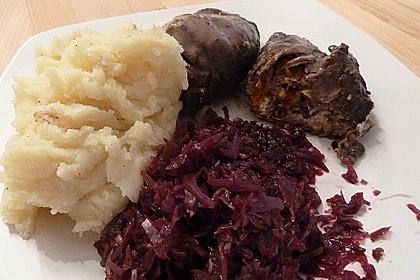 Rouladen mit Frühlingszwiebeln und Schafskäse 15