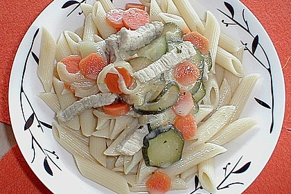 Geschnetzeltes in Gorgonzola - Sahne