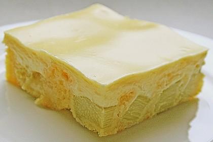 Rhabarberschnitten mit Vanille - Schmand - Guss 5