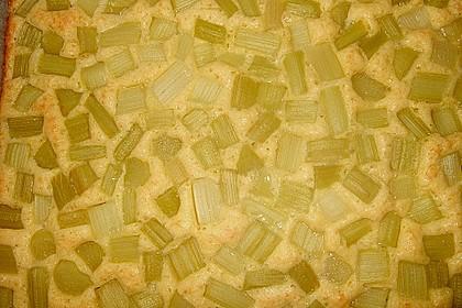 Rhabarberschnitten mit Vanille - Schmand - Guss 53