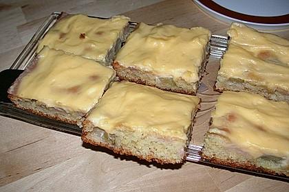 Rhabarberschnitten mit Vanille - Schmand - Guss 29
