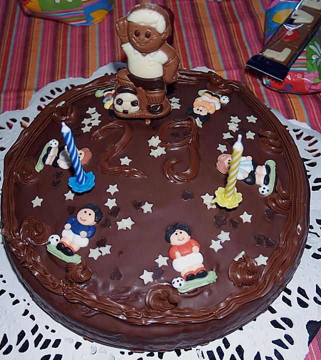 französischer schokoladenkuchen extra schokoladig