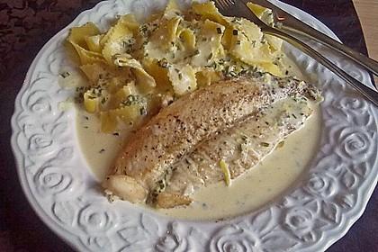 Spaghetti mit Zitronen - Sahne - Soße 7