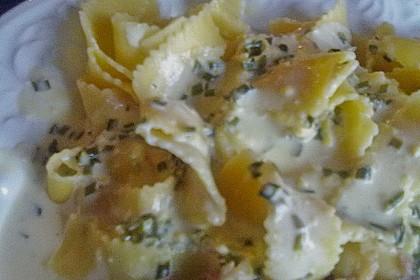 Spaghetti mit Zitronen - Sahne - Soße 14