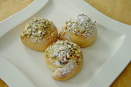 Apfel - Rosinenschnecken 8