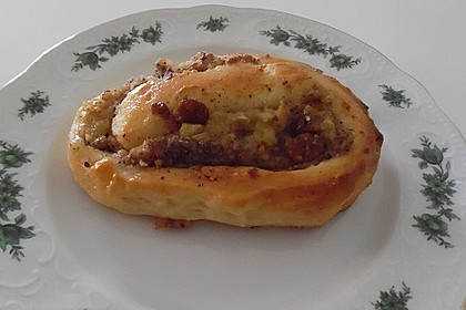 Apfel - Rosinenschnecken