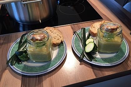 Zucchini - Creme - Suppe 1