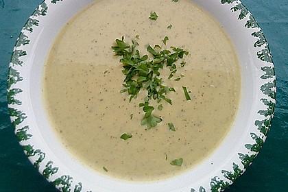 Zucchini - Creme - Suppe 4