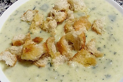 Zucchini - Creme - Suppe 15