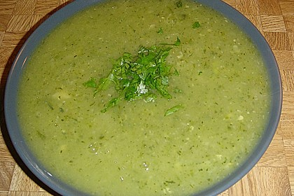 Zucchini - Creme - Suppe 9