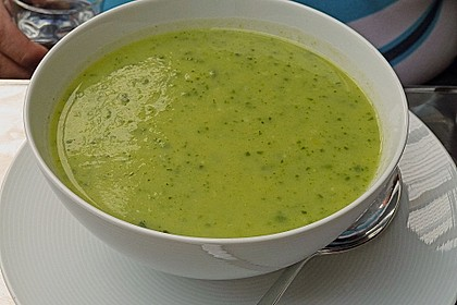 Zucchini - Creme - Suppe 3